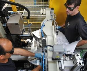 New laser welding station for automotive component